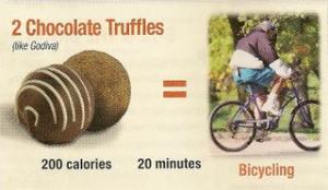 truffles and bike