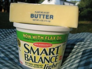 butter and margarine