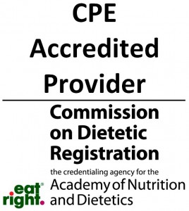 CDR CPE Accredited Provider