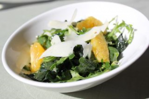 Five Tastes Arugula Salad with Oranges
