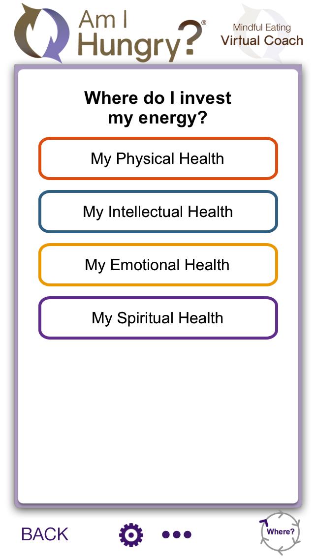 Am I Hungry Mindful Eating Virtual Coach App Am I