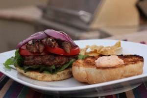 Chipotle Portobello Burgers