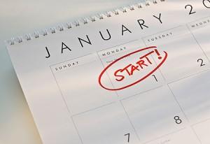 January start calendar