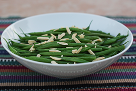 Lemony Green Beans with Almonds