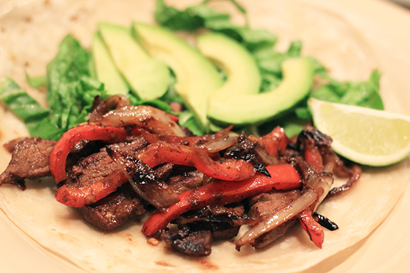 Beef-Fajitas