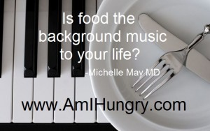 Food as Background Music