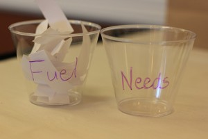 Fuel vs. Needs