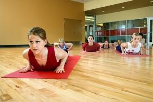 yoga class - sm
