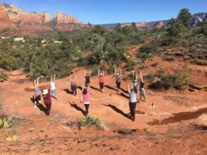 Mindful-Eating-and-Yoga-Retreat-yoga-in-Sedona