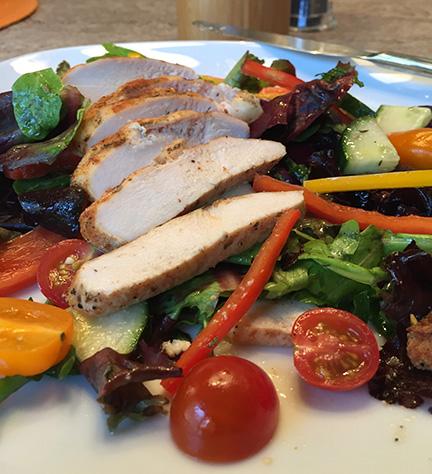 Chicken-Tomato-Pepper-Salad