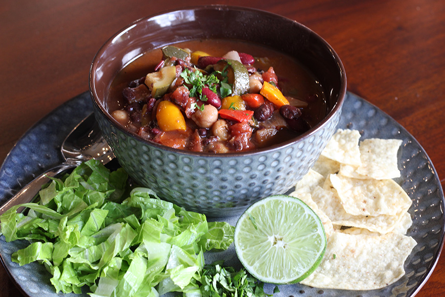 Three-Bean-Vegetarian-Chili