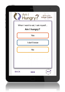 Am I Hungry? Mindful Eating Virtual Coach App