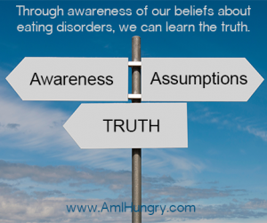 Assumptions about Eating Disorders and Body Size-web