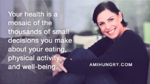 Your well-being is a result of the many small decisions you make, not a single New Year's resolution to lose weight.