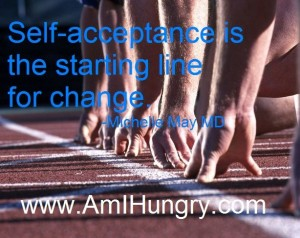 self acceptance finish line