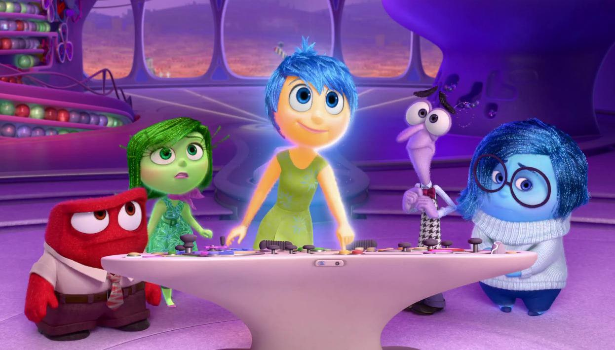 Inside-Out characters from Disney Pixar