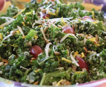 Kale-Quinoa-Salad-with-Honey-Mustard-Dressing