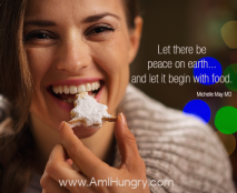 Let there be peace with food